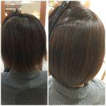 縮毛矯正+髪質改善