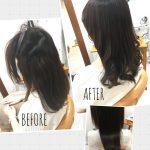 [髪質改善+縮毛矯正]エイジング毛(パサつく、うねる、広がる、コシが弱くなってきた、、、)を綺麗に扱いやすく!