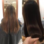 [ヘアエステ+毛先カット]でまとまりやすい良質な髪の毛に