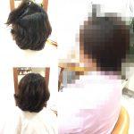 [埼玉 志木]ショートカットの縮毛矯正は丸みを残して柔らかく